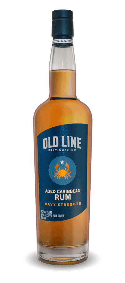 Old Line Aged Caribbean Rum - Navy Strength