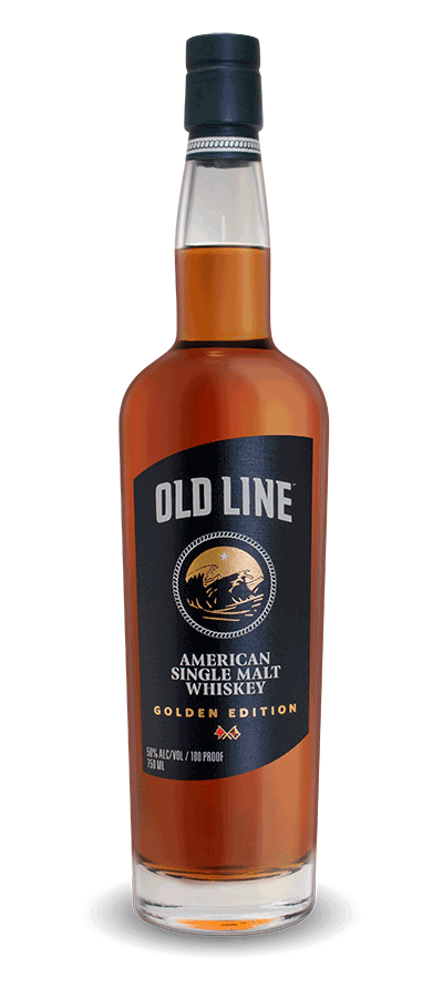Old Line American Single Malt Whiskey - Golden Edition